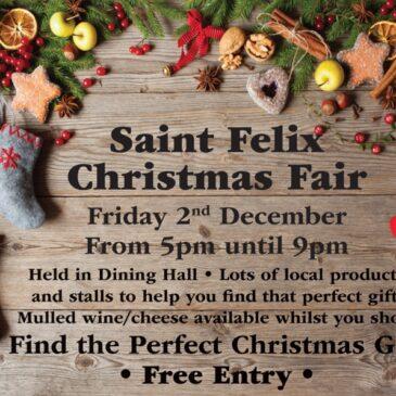 St. Felix Christmas Fair